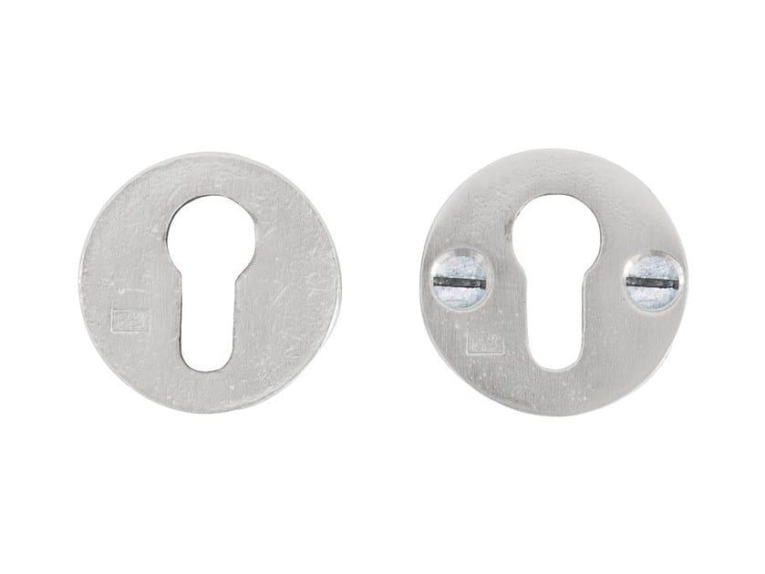 Round keyhole escutcheon PURE 15186 by Dauby