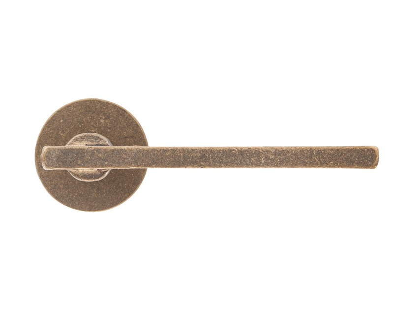 Bronze door handle PURE 16871 by Dauby