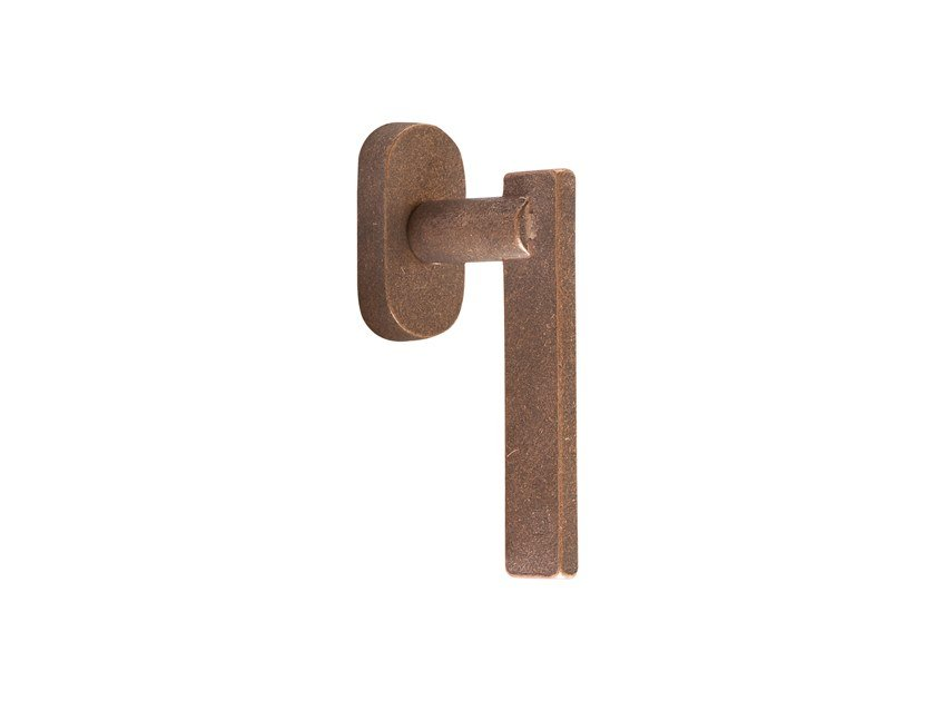 Bronze window handle PURE 16921 by Dauby