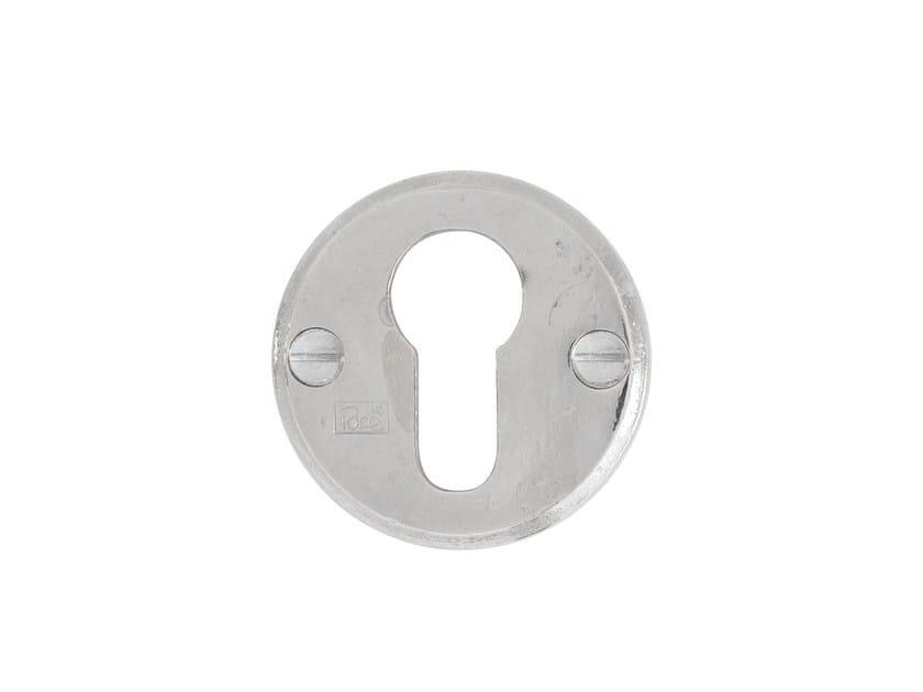 Round keyhole escutcheon PURE 7238 by Dauby