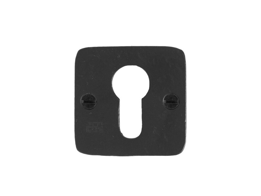 Square keyhole escutcheon PURE 7685 by Dauby