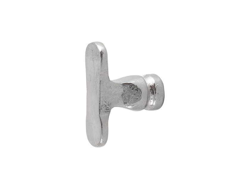 White Bronze Furniture knob PURE 8092 by Dauby