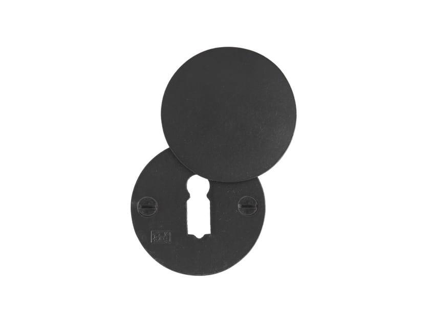 Round keyhole escutcheon PURE 9637 by Dauby