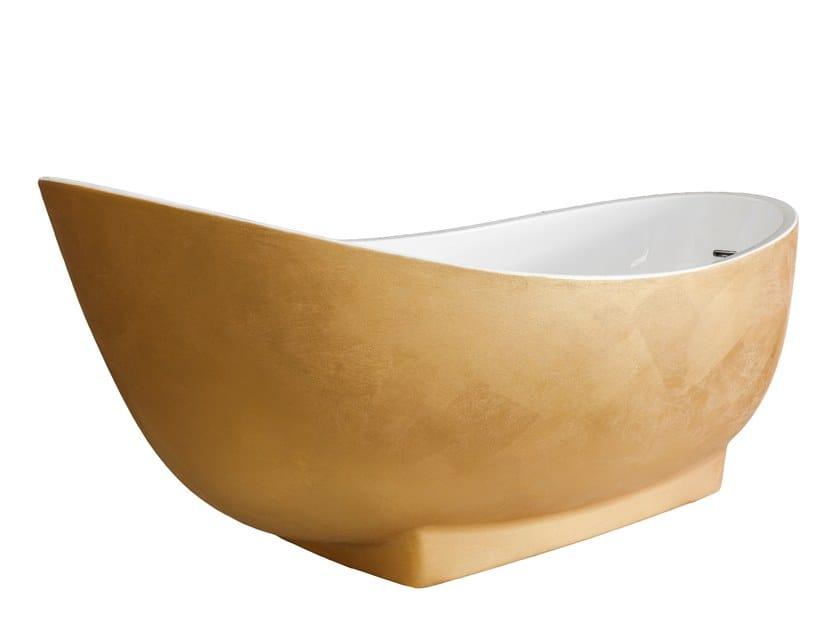 Freestanding bathtub PURE GOLD 100 by Saikallys