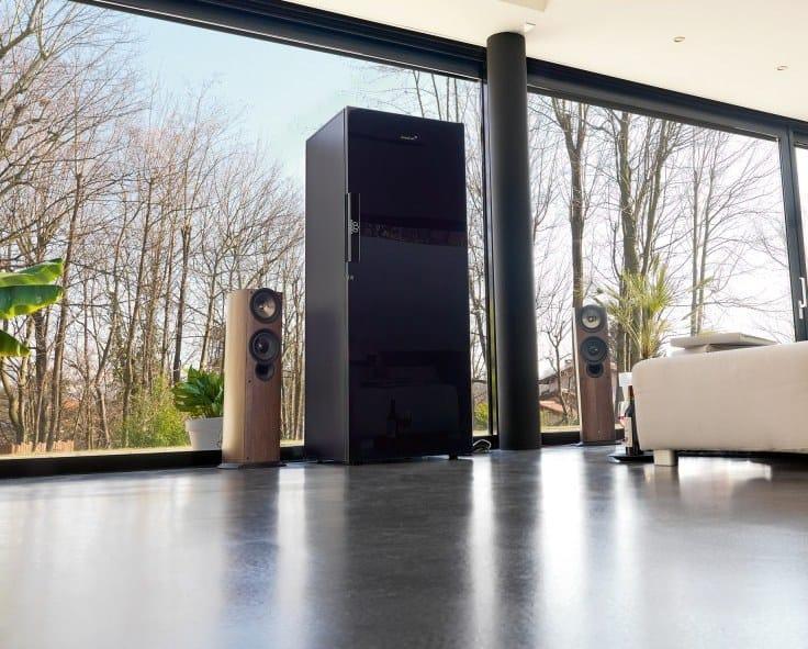 Cantinetta frigo a libera installazione con illuminazione ...