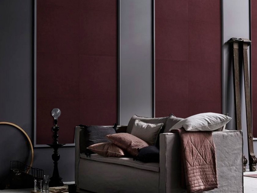 Indoor leather wall tiles PURE by Miyabi casa