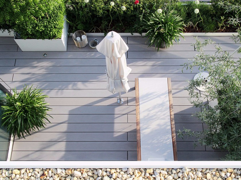 WPC decking PURE WIDE BOSTON by MYDECK®