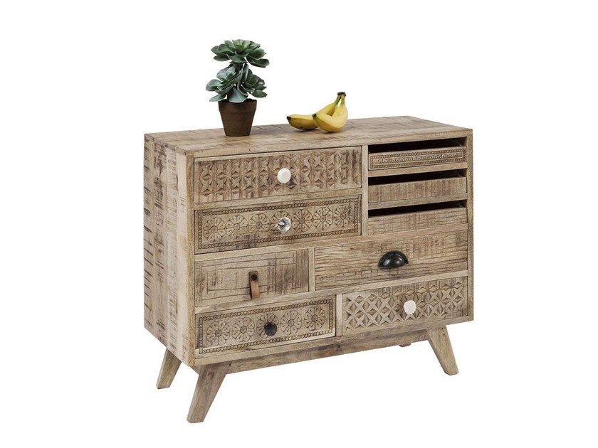 Wooden chest of drawers PURO BEACH by KARE-DESIGN