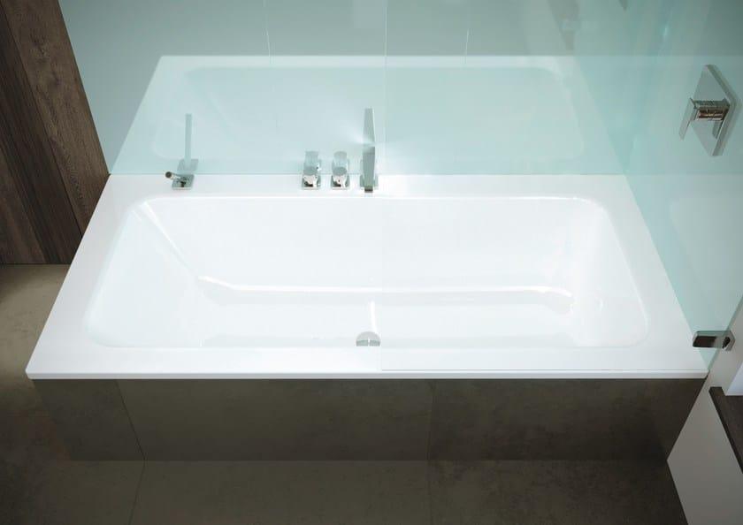 Vasca Da Bagno Kaldewei Prezzi : Vasca da bagno rettangolare in ceramica puro set wide kaldewei
