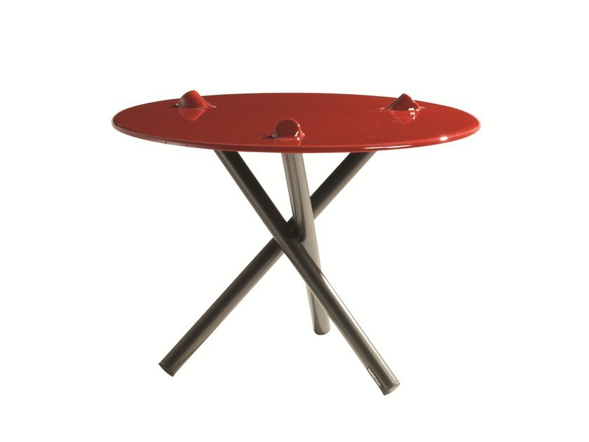 Round Daquacryl® side table PUSH | Side table by ROCHE BOBOIS