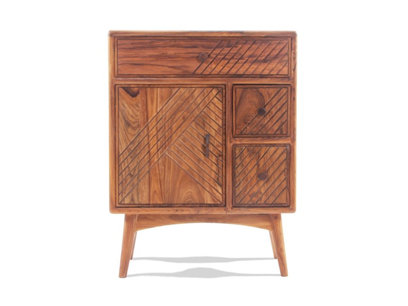 Solid wood highboard PUSTAK DARAJ | Highboard by ALANKARAM