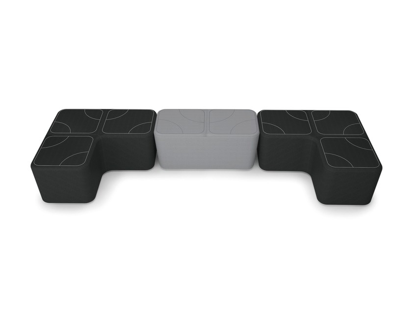 Imbottito PuzzlePouf Rettangolare Imbottito Luxy Luxy Rettangolare PuzzlePouf OPNk80nwX