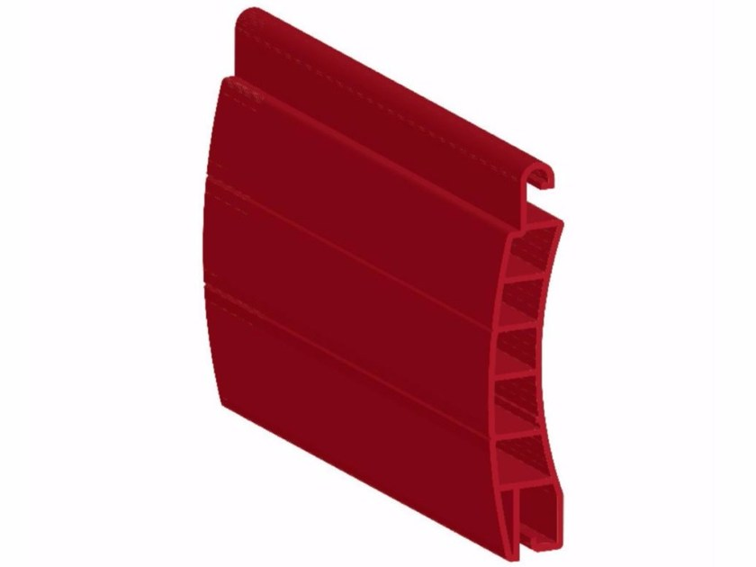 PVC roller shutter PVC65 by Teknika