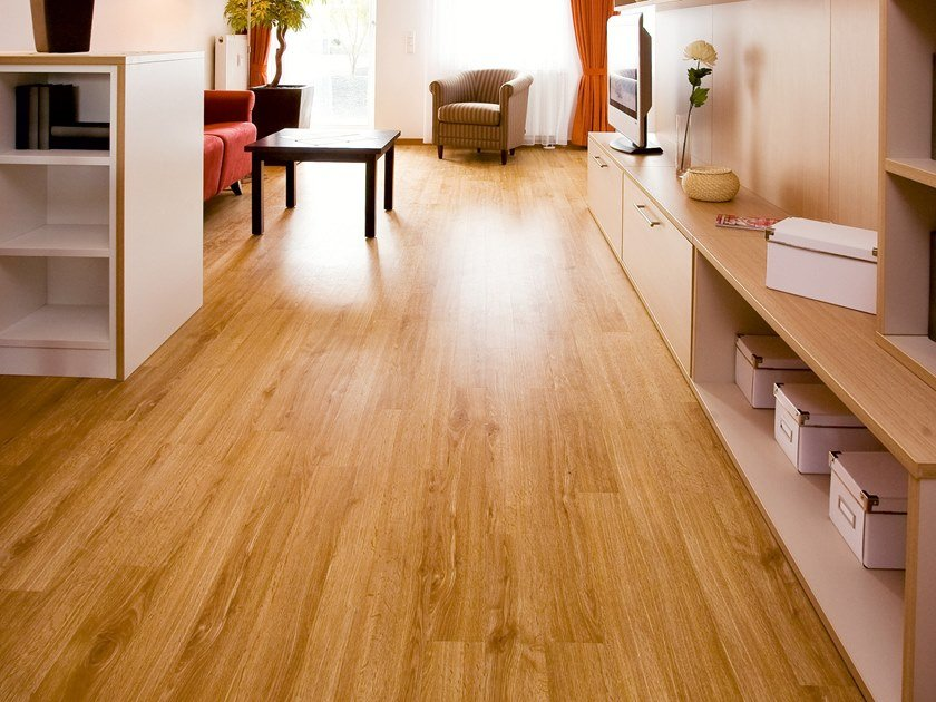 PVC flooring with wood effect PW 1231 by PROJECT FLOORS