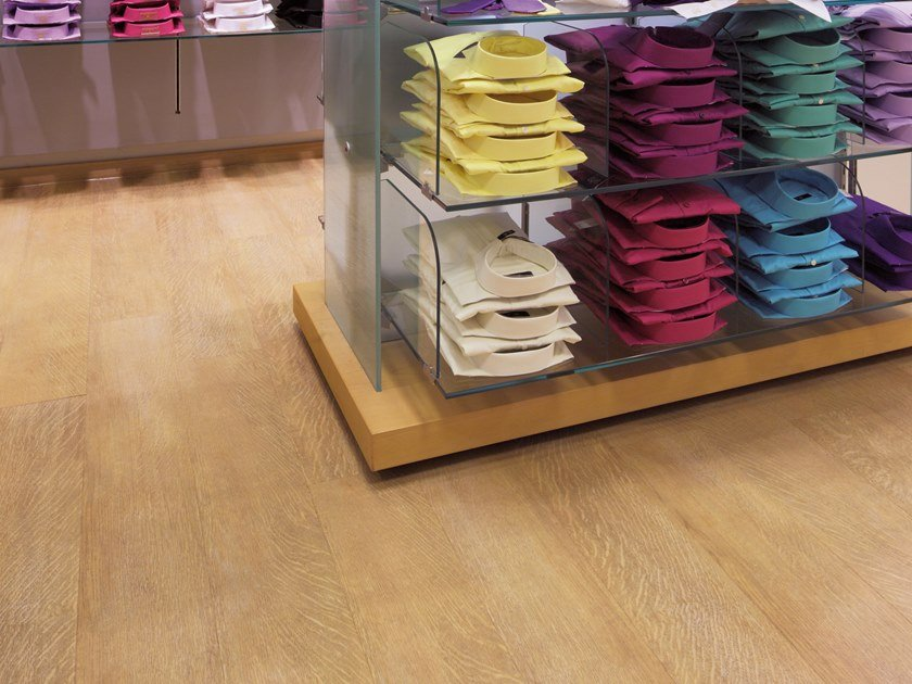 PVC flooring with wood effect PW 1245 by PROJECT FLOORS