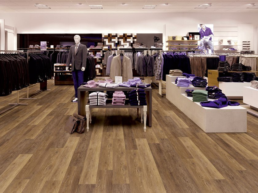 PVC flooring with wood effect PW 1261 by PROJECT FLOORS