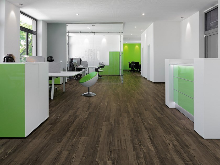 PVC flooring with wood effect PW 1352 by PROJECT FLOORS