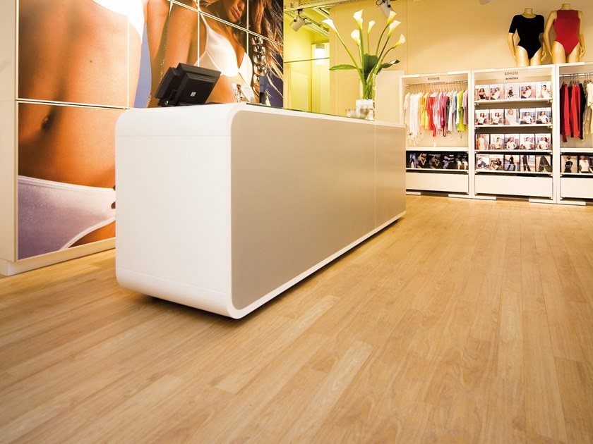 PVC flooring with wood effect PW 1633 by PROJECT FLOORS