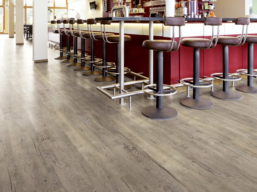 PVC flooring with wood effect PW 2007 by PROJECT FLOORS