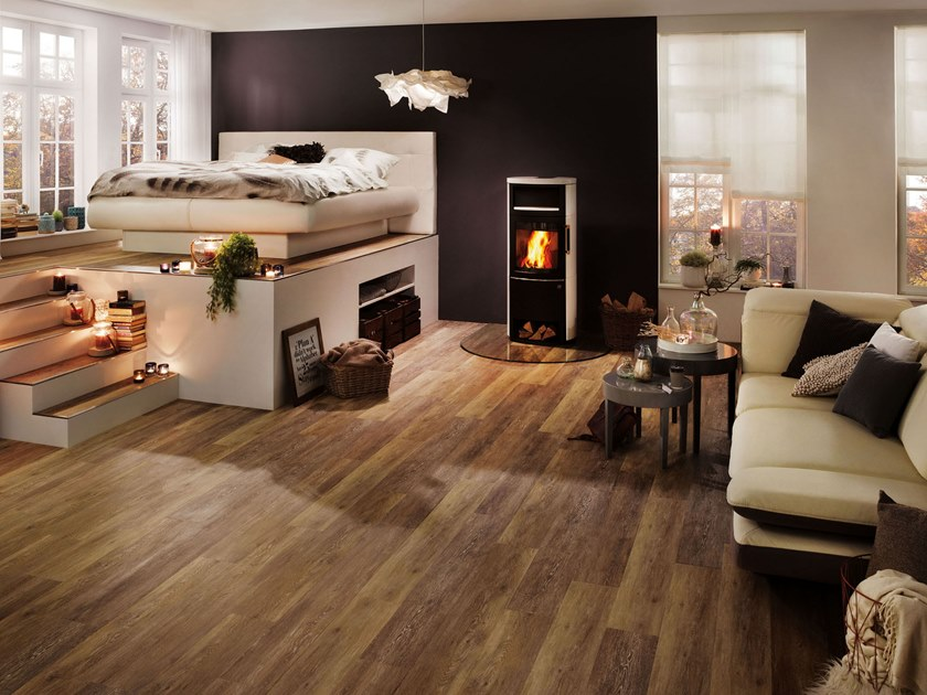PVC flooring with wood effect PW 4022 by PROJECT FLOORS