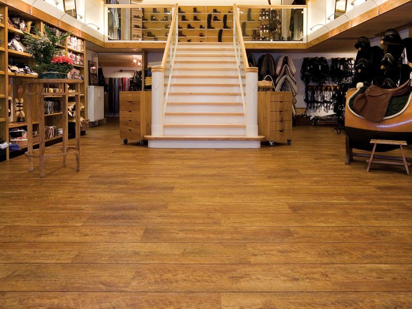 PVC flooring with wood effect PW 2400 by PROJECT FLOORS