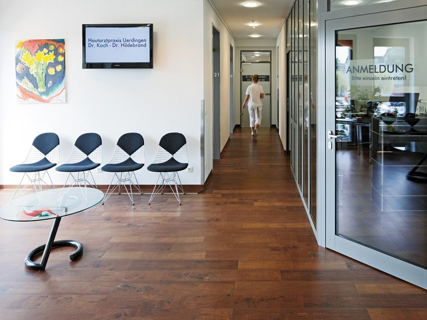 PVC flooring with wood effect PW 3010 by PROJECT FLOORS