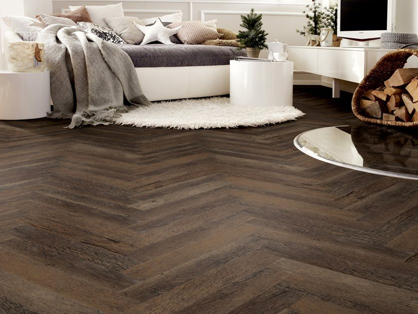 PVC flooring with wood effect PW 3011/HB by PROJECT FLOORS
