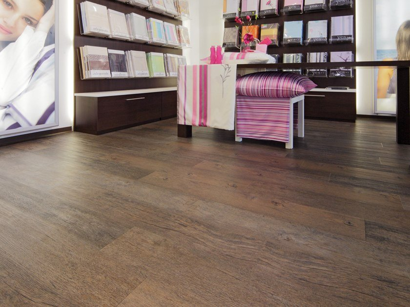 PVC flooring with wood effect PW 3040 by PROJECT FLOORS