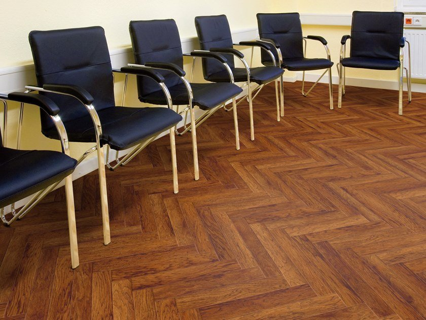 PVC flooring with wood effect PW 3055/HB by PROJECT FLOORS