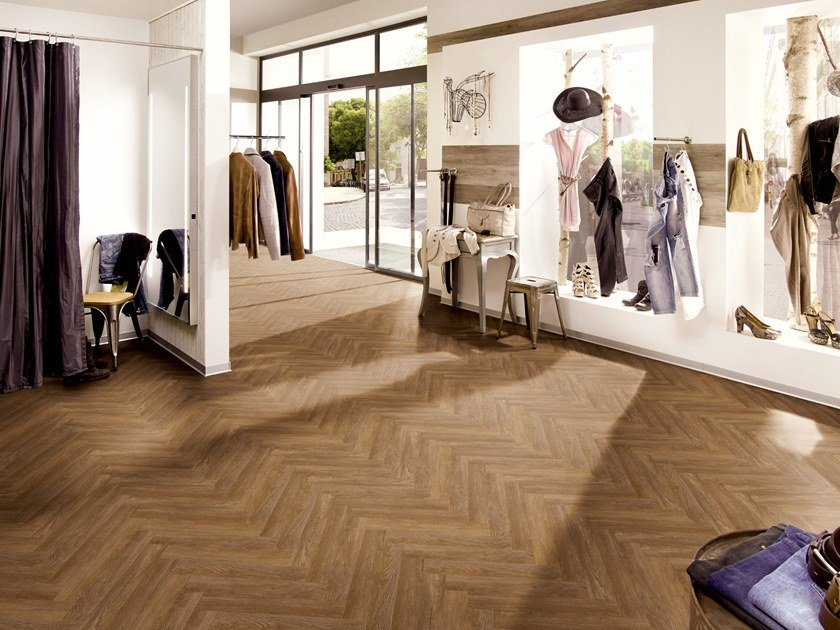 PVC flooring with wood effect PW 3065/HB by PROJECT FLOORS