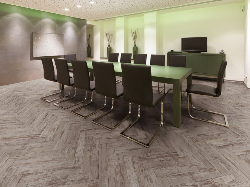 PVC flooring with wood effect PW 3080/HB by PROJECT FLOORS