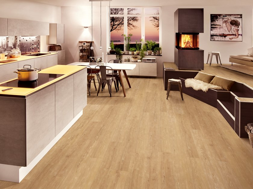 PVC flooring with wood effect PW 3100 by PROJECT FLOORS