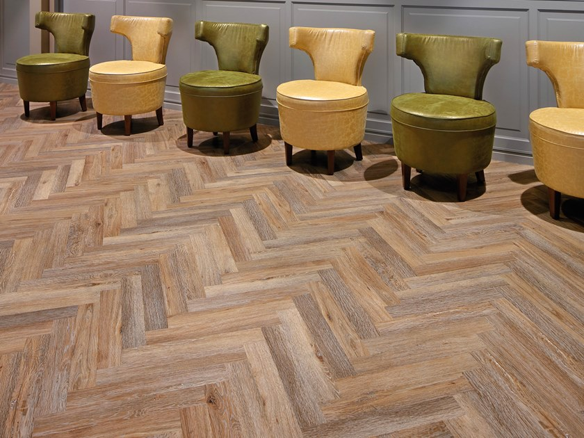 PVC flooring with wood effect PW 3610/HB by PROJECT FLOORS