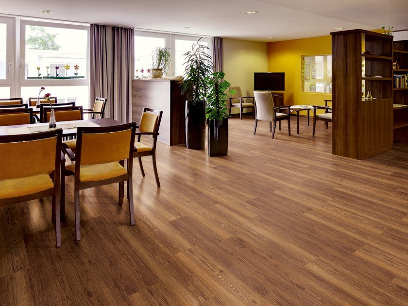PVC flooring with wood effect PW 3850 by PROJECT FLOORS