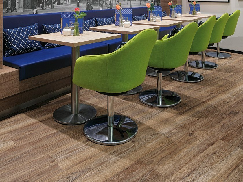 PVC flooring with wood effect PW 3851 by PROJECT FLOORS