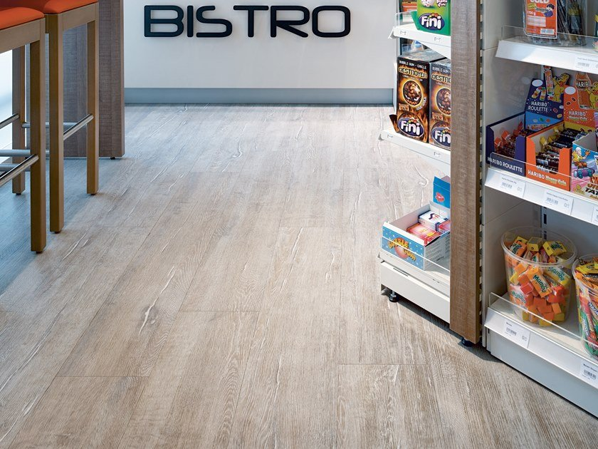 PVC flooring with wood effect PW 3860 by PROJECT FLOORS