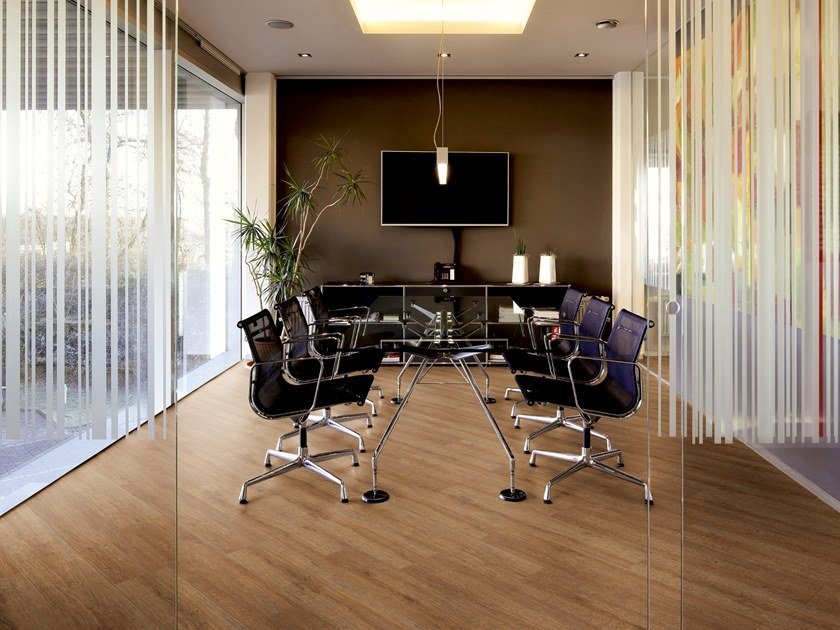 PVC flooring with wood effect PW 3870 by PROJECT FLOORS