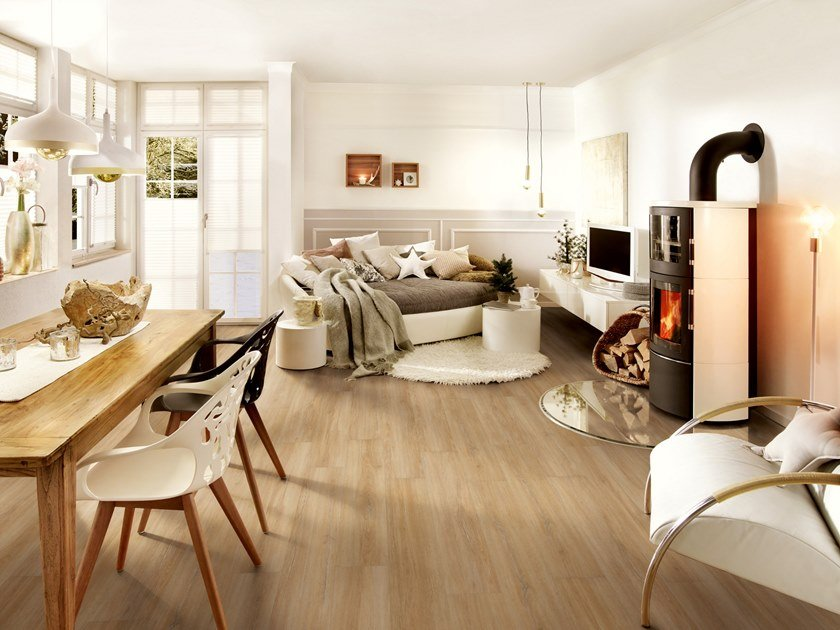 PVC flooring with wood effect PW 3913 by PROJECT FLOORS