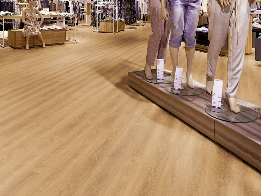 Pvc flooring with wood effect pw 4011 by project floors