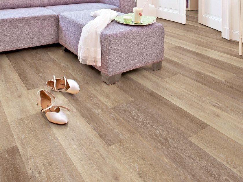 Pvc flooring with wood effect pw 4020 by project floors