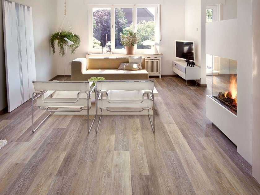 PVC flooring with wood effect PW 4021 by PROJECT FLOORS