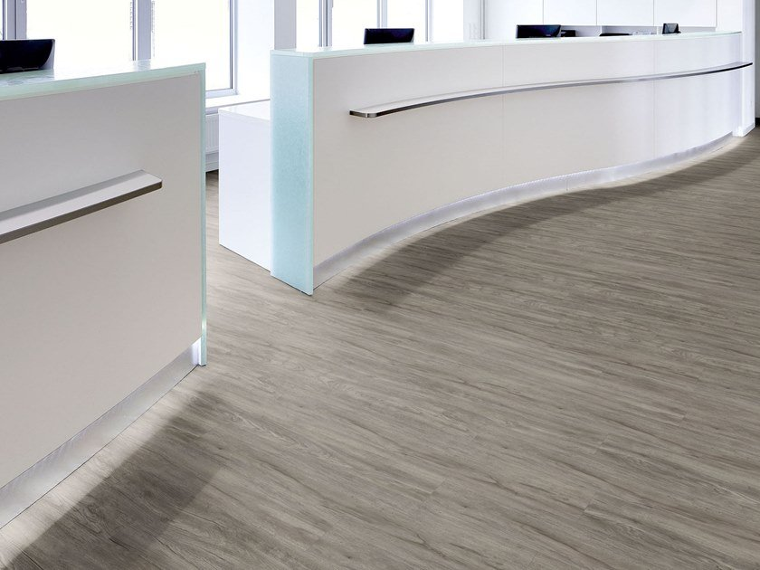 PVC flooring with wood effect PW 4030 by PROJECT FLOORS