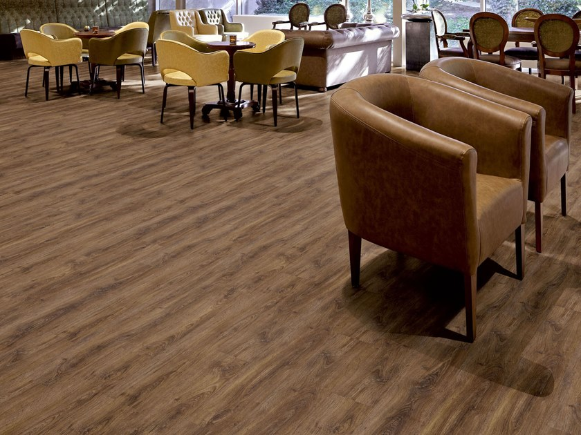 PVC flooring with wood effect PW 4050 by PROJECT FLOORS