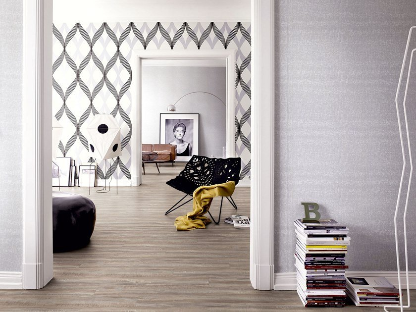 PVC flooring with wood effect PW 4160 by PROJECT FLOORS
