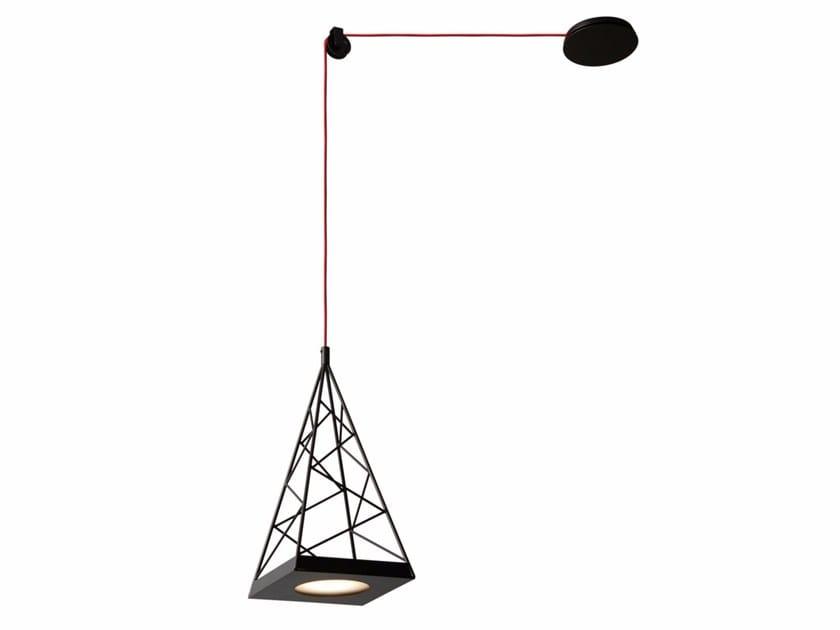 LED adjustable pendant lamp PYLON by Tooy