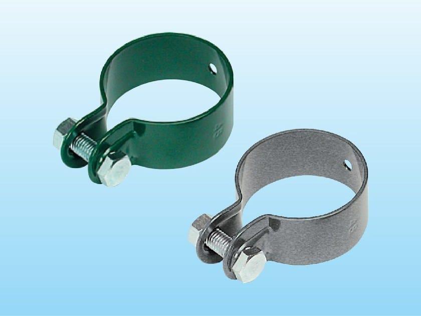 Collare metallico per saette di sostegno