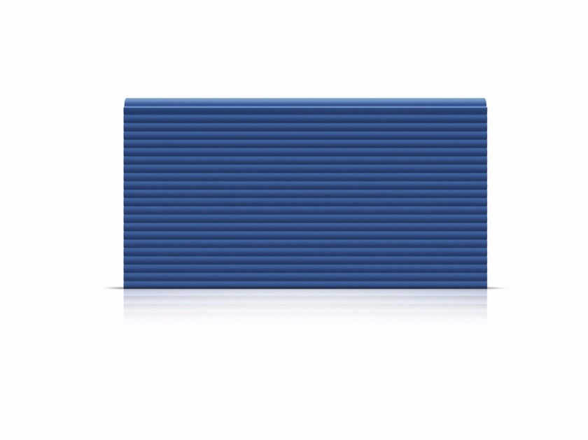 Sectional door panels Panels with multiribbed outer surface by Marcegaglia