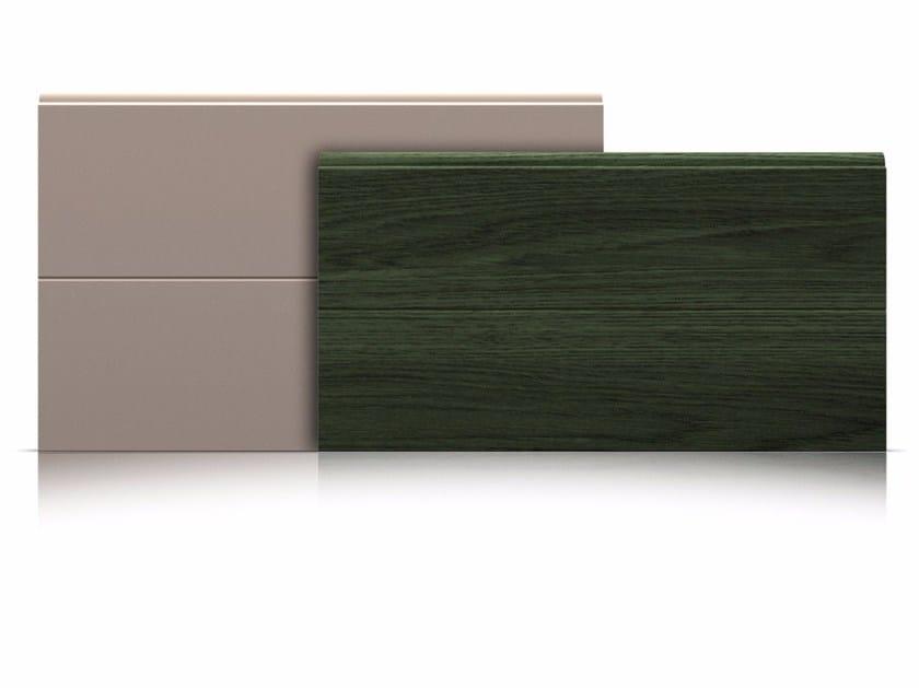 Pannelli per portone sezionale Pannelli con riga centrale by Marcegaglia