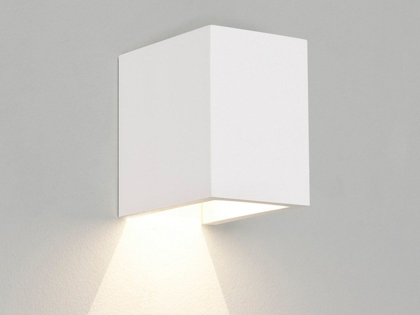 LED gypsum wall light PARMA 100 by Astro Lighting