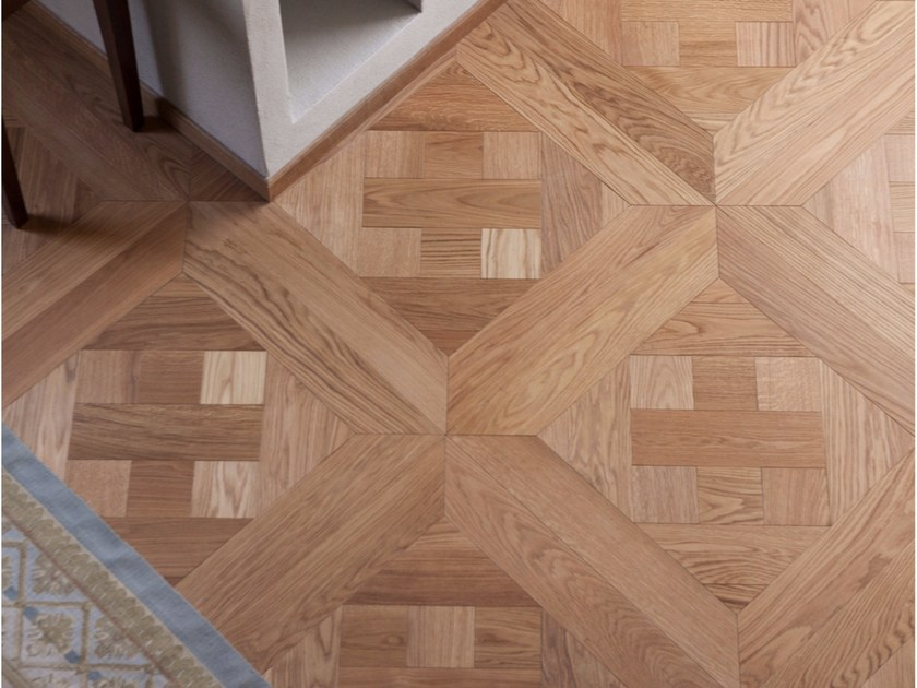 Solid wood parquet WOOD TILES by Bruno Parquet